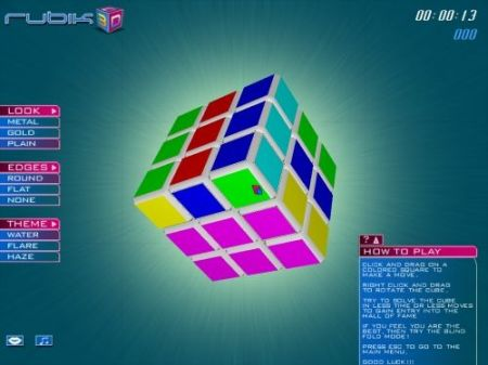 Snapshot of Rubik 3D
