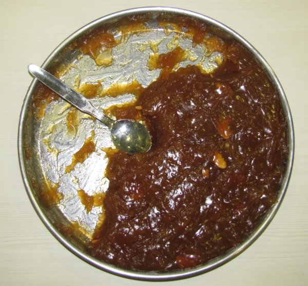 Yummy Wheat Halwa